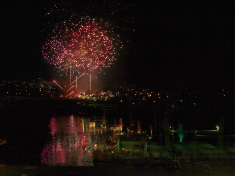 Vídeo: Fogo de artificio Sr de Matosinhos